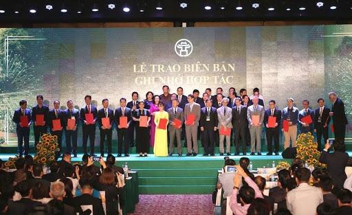 """Tổ chức thành công Hội nghị """"Hà Nội 2020 - Hợp tác đầu tư và phát triển"""""""
