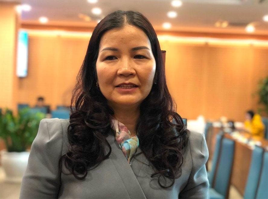 Phó Giám đốc phụ trách Sở Công thương Trần Thị Phương Lan