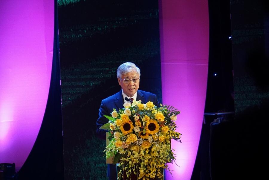 Bộ trưởng, Chủ nhiệm Đỗ Văn Chiến phát biểu tại lễ tuyên dương
