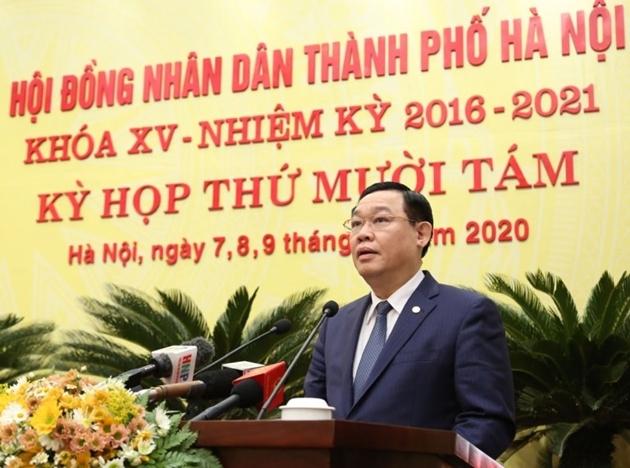 Bí thư Thành ủy Vương Đình Huệ làm Trưởng Ban chỉ đạo về bầu cử của Hà Nội
