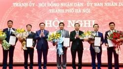 Hà Nội phân công công tác Chủ tịch và các Phó Chủ tịch UBND thành phố