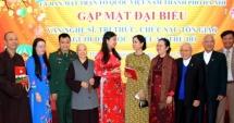 Mặt trận Tổ quốc Việt Nam TP Hà Nội gặp mặt văn nghệ sỹ, trí thức, chức sắc tôn giáo