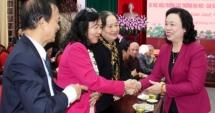 Hà Nội: Gặp mặt đại biểu văn nghệ sĩ, trí thức, chức sắc tôn giáo