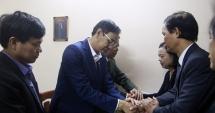 Lãnh đạo TP Hà Nội chia buồn, động viên các gia đình chiến sỹ hy sinh tại Đồng Tâm