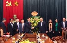 Bí thư Thành ủy tiếp đoàn đại biểu Hội thánh Tin lành Việt Nam (miền Bắc)