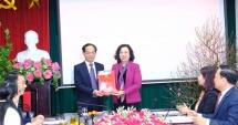 Hà Nội: Trao quyết định bổ nhiệm 2 phó trưởng ban Đảng Thành ủy