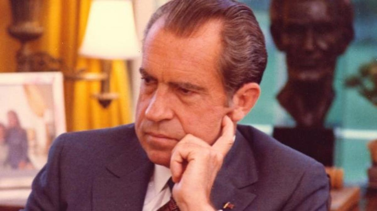 Richard Nixon. Ảnh: History
