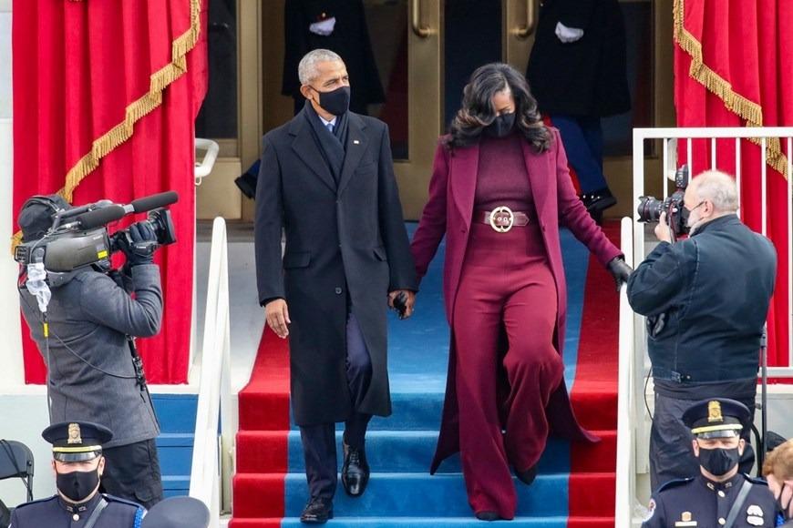 Những hình ảnh đáng nhớ tại lễ tuyên thệ của ông Joe Biden