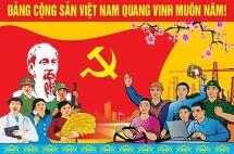 Trang trọng Lễ mít tinh kỷ niệm 90 năm Ngày thành lập Đảng Cộng sản Việt Nam