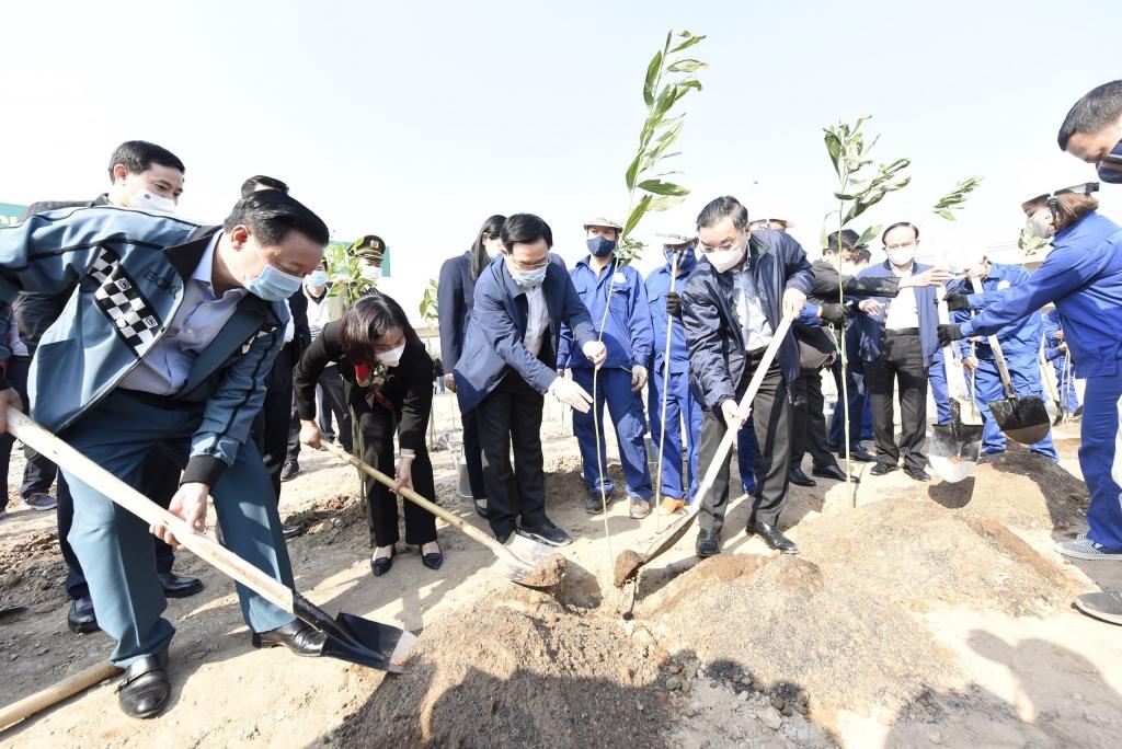 Hà Nội: Phấn đấu đến năm 2030, mỗi người dân trồng một cây xanh