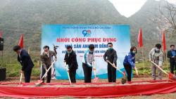 Phục dựng Nhà sàn anh Kim Đồng tại Cao Bằng
