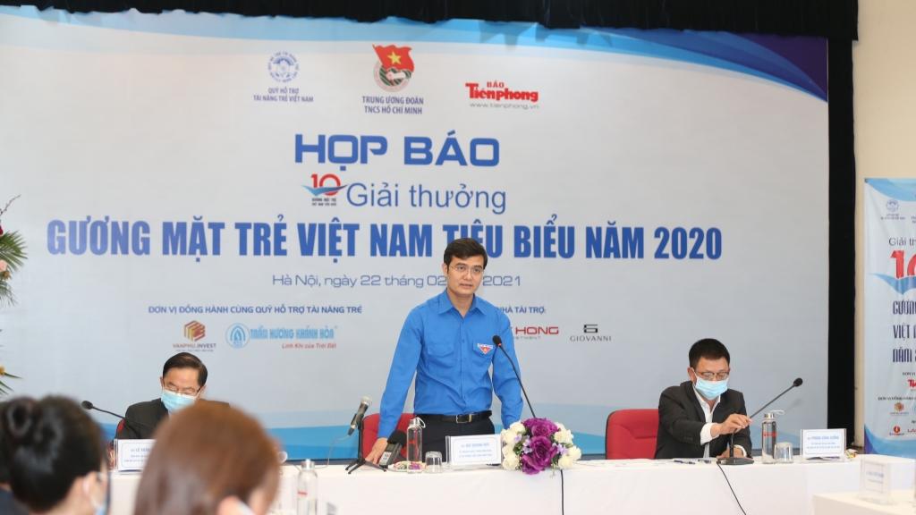 """20 đề cử vào vòng bình chọn trực tuyến """"Gương mặt trẻ Việt Nam tiêu biểu"""" 2020"""