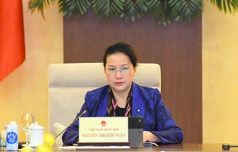 Chủ tịch Quốc hội: Chính phủ rất năng động, sáng tạo được Nhân dân tin tưởng, bạn bè quốc tế ca ngợi