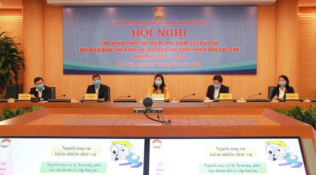 Các đại biểu dự tại điểm cầu Hà Nội