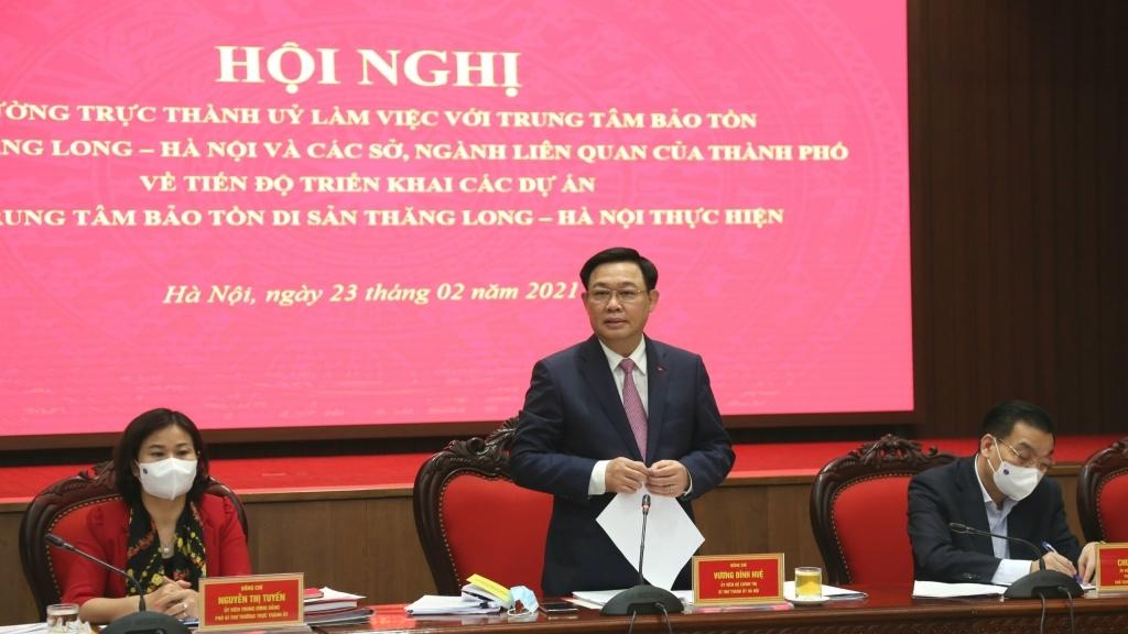 Đưa Hoàng thành Thăng Long trở thành công viên di sản xứng đáng với giá trị toàn cầu