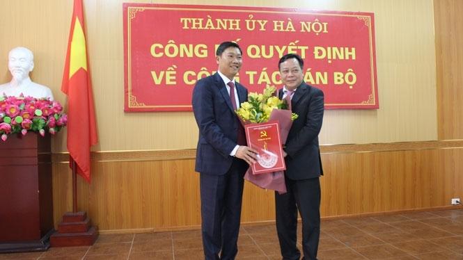 Ông Đỗ Anh Tuấn giữ chức Giám đốc Sở Kế hoạch và Đầu tư Hà Nội