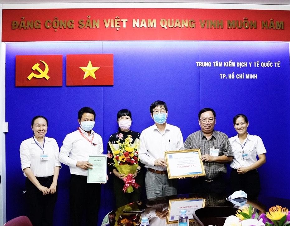cong doan pv gas ung ho 600 trieu dong cho tap the y bac si truc chien tai san bay trong diem
