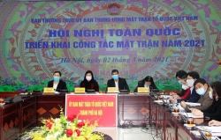 Mặt trận Tổ quốc Việt Nam triển khai nhiệm vụ công tác năm 2021