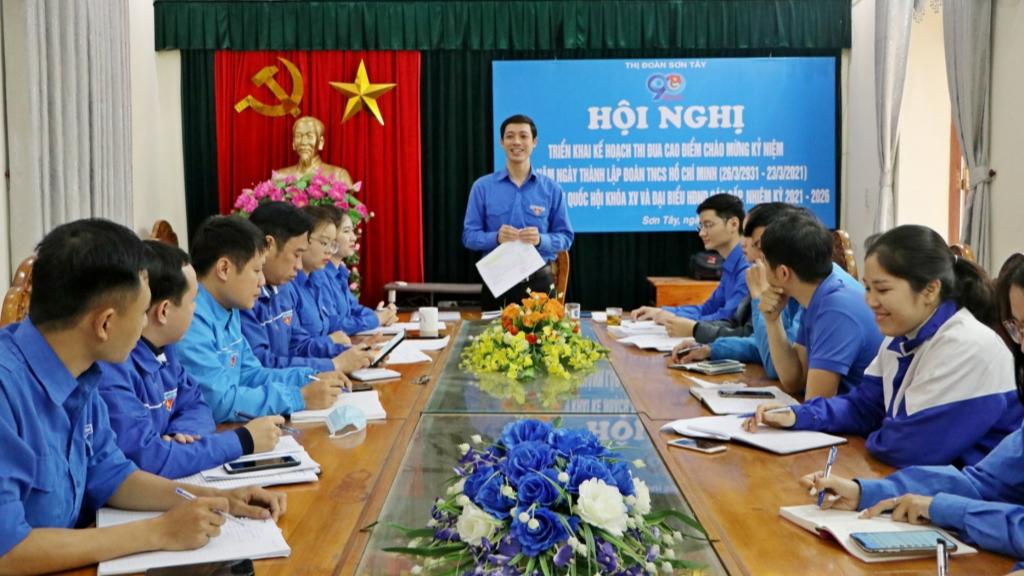 Nhiều hoạt động hấp dẫn của tuổi trẻ Sơn Tây mừng ngày thành lập Đoàn
