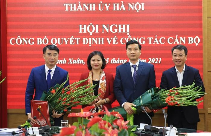 Bí thư Quận ủy Thanh Xuân Nguyễn Xuân Lưu là tân Giám đốc Sở Tài chính