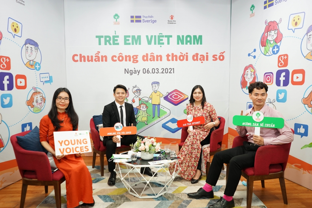 """Để trẻ em Việt Nam là công dân """"chuẩn"""" thời đại số…"""