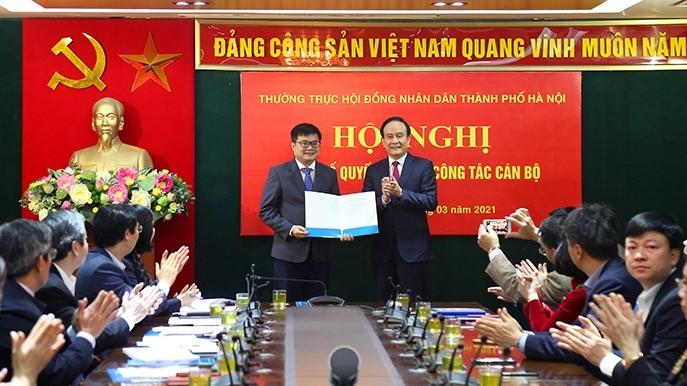 Đồng chí Trương Việt Dũng là tân Chánh Văn phòng Đoàn đại biểu Quốc hội và HĐND thành phố Hà Nội