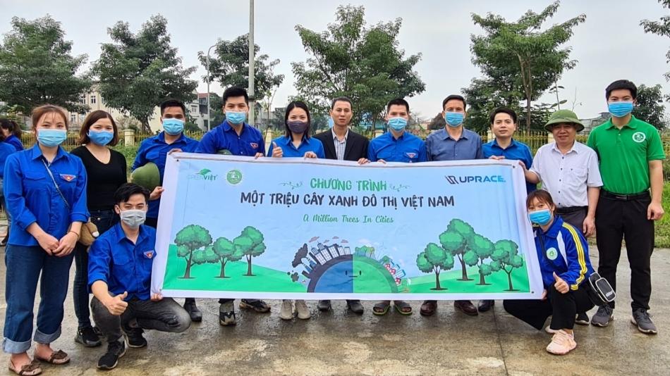 Tuổi trẻ huyện Quốc Oai trồng 3.020 cây xanh, bảo vệ môi trường