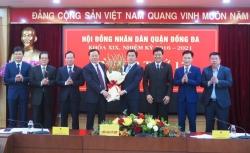 Ông Lê Tuấn Định được bầu giữ chức Chủ tịch UBND quận Đống Đa