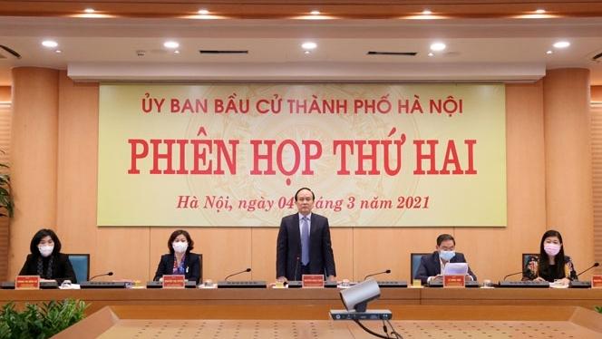 Hà Nội: Chuẩn bị giám sát công tác bầu cử tại các quận, huyện