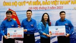 """Tuổi trẻ Thủ đô góp Quỹ """"Vì biển, đảo Việt Nam"""""""