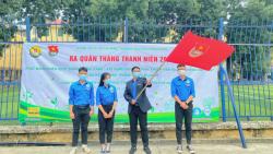 Tháng Thanh niên sôi nổi của tuổi trẻ trường Đại học Công đoàn