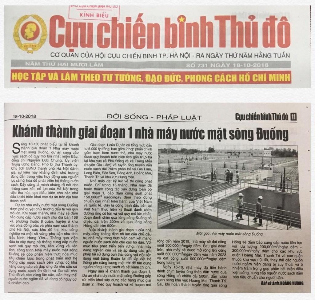 Thường trực Thành ủy Hà Nội đồng ý chủ trương dừng hoạt động Báo Cựu chiến binh Thủ đô