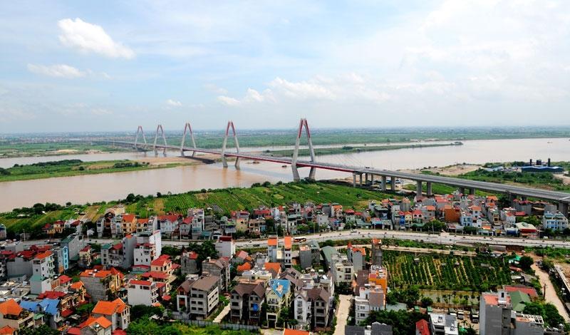 Tạo đột phá cho phát triển Hà Nội khi quy hoạch hai bên bờ sông Hồng