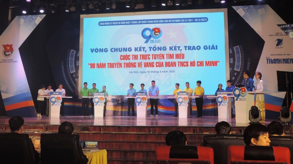 Cuộc thi thu hút sự quan tâm của đông đảo đoàn viên, thanh niên