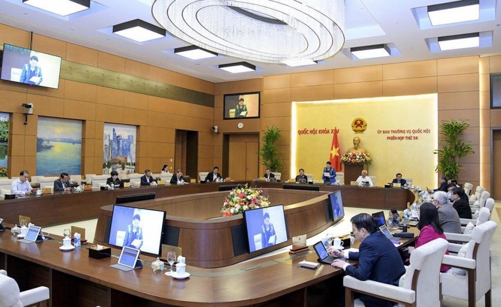 Phiên họp 54 của Ủy ban Thường vụ Quốc hội