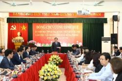 Bí thư Thành ủy Vương Đình Huệ làm việc với Trường Đào tạo cán bộ Lê Hồng Phong
