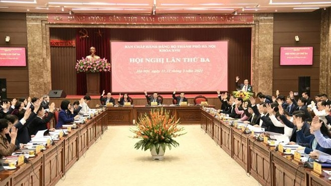 Thực hiện thắng lợi 10 chương trình công tác toàn khóa XVII của Thành ủy Hà Nội