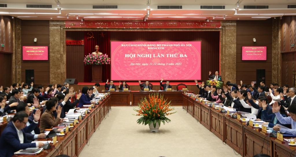 Thành ủy Hà Nội ban hành 10 chương trình công tác khóa XVII