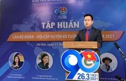 Tập huấn cán bộ Đoàn, Hội năm 2021