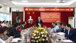 Bí thư Thành ủy Vương Đình Huệ làm việc với trường Đại học Thủ đô Hà Nội