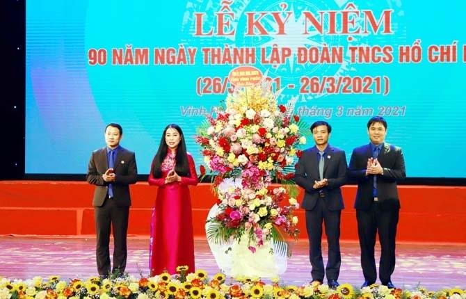 Tuổi trẻ Vĩnh Phúc kỷ niệm 90 năm Ngày thành lập Đoàn TNCS Hồ Chí Minh
