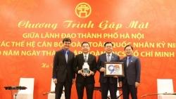 Lãnh đạo thành phố Hà Nội gặp mặt các thế hệ cán bộ Đoàn toàn quốc