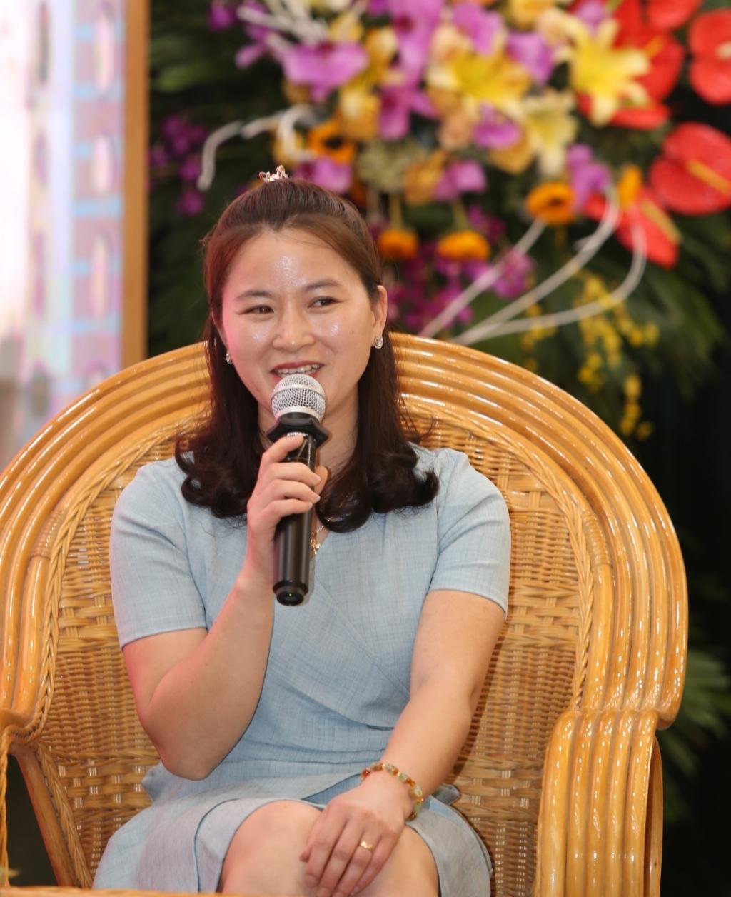 Chị Bùi Thị Thanh Hà