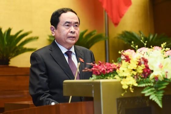 Chủ tịch Ủy ban Trung ương Mặt trận Tổ quốc Việt Nam Trần Thanh Mẫn.