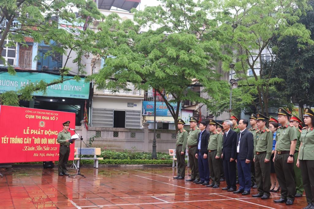 Tháng Thanh niên sôi nổi của tuổi trẻ Công an quận Hoàn Kiếm