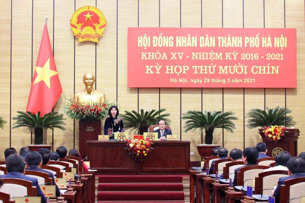 Các kỳ họp của HĐND TP ngày càng có nhiều đổi mới