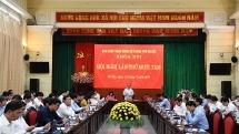 Hội nghị lần thứ 18 BCH Đảng bộ TP Hà Nội: Họp bàn nhiều nội dung về công tác cán bộ