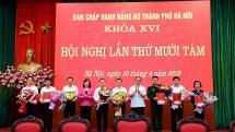 Ban Chấp hành Đảng bộ Thành phố thực hiện nhiệm vụ công tác nhân sự