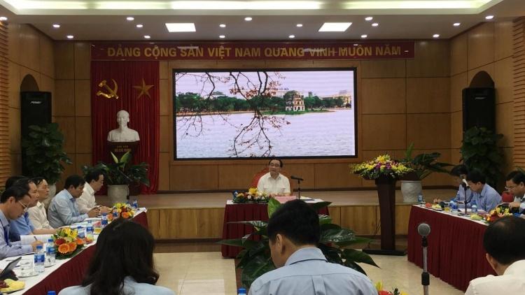 Bí thư Thành ủy Hoàng Trung Hải làm việc với Sở Giáo dục và Đào tạo