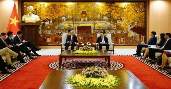 Tăng cường hợp tác, thúc đẩy các dự án phát triển giữa Pháp và Hà Nội